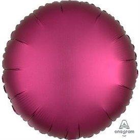 Globo Circulo color satin Granate de 45cm3682701 Anagram