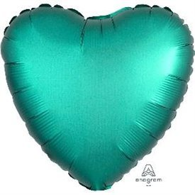 Globo Corazon color satin Jade de 45cm3679901 Anagram