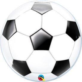 Globo Balón de Fútbol Burbuja Bubble 56cmQL-19064 Qualatex