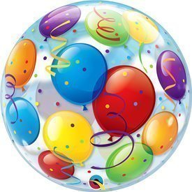 Globo Globos Burbuja Bubble 56cmQL-15606 Qualatex