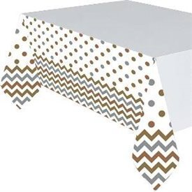 Mantel Chevron Mixed Metal