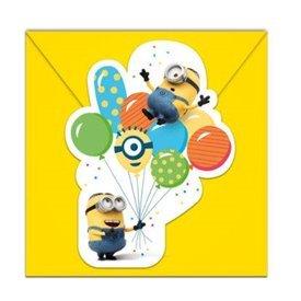 Invitaciones Minions Balloons (6)