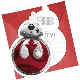 Invitaciones Star Wars Ep. 8 (6)88554 Procos
