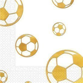 Servilletas Fútbol Gold (20)