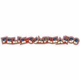 Guirnalda Feliz Cumpleaños Circus