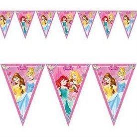 Banderin triangulos Princesas Disney