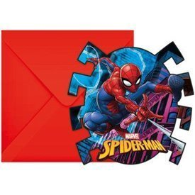 Invitaciones Spiderman Marvel (6)