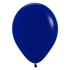 Globos R12 de 30 cm aprox Color Azul Naval Solido (50 ud)R12-044 Sempertex