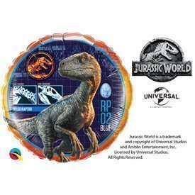 Globo foil Jurassic World de 46cmQL-64690 Qualatex