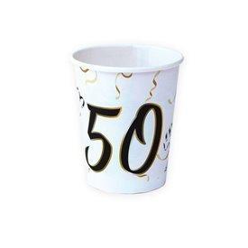 Vasos 50 años de cartón (8)16001461 Verbetena