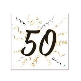 Servilletas 50 años de papel (20)16001462 Verbetena