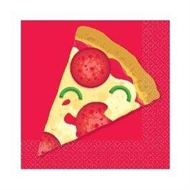 Servilletas Pizza Party 25x25cm (16)