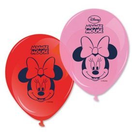 Globos latex Minnie Disney Dots (8)84934 Procos