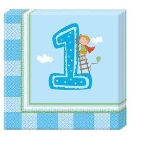 Servilletas 1º Cumpleaños Niño (20)85719 Procos