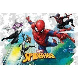 Mantel Spiderman Team up Marvel 120x180cm