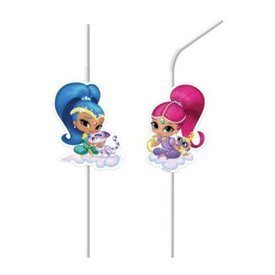 Pajitas Shimmer & Shine Friends (6)