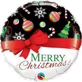 "Globo Foil ""Merry Christmas"" de 46cmQL-52210 Qualatex"