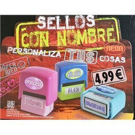 """Sello con Nombre """"NIETA Nº1""""Sello7 HISTORY & HERALDRY"""