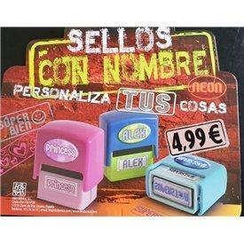 "Sello con Nombre ""MEJOR AMIGO"""