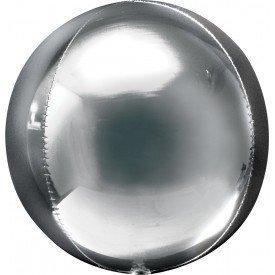 Globo Forma Esfera de 40 cm Color PLATA2820101 Anagram