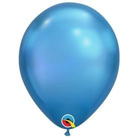 "Globos CHROME QUALATEX Blue de 11""- 28cm (25)QL-58278 Qualatex"