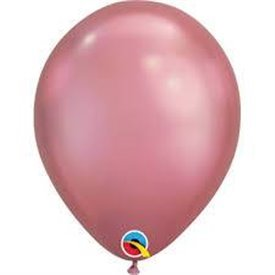 "Globos CHROME QUALATEX Mauve de 11""- 28cm (25)QL-58281 Qualatex"