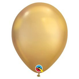 "Globos CHROME QUALATEX Gold de 11""- 28cm (100)QL-58271 Qualatex"