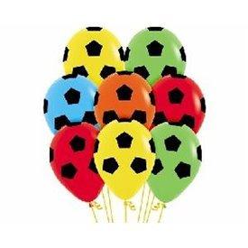 Globos Serigrafiado Balón De 30 cm Colores Surtidos Solido (12 ud)