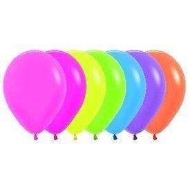 Globos R12 de 30 cm aprox Colores Surtidos Neon (50 ud)R12-200 Sempertex