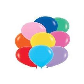 Globos de 13 cm aprox Colores Surtidos Solidos (100 ud)