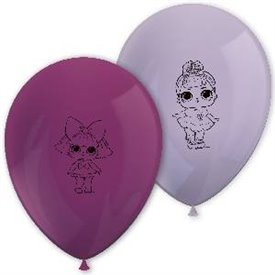 Globos latex Lol Surprise Glitterati (8)90864 Procos
