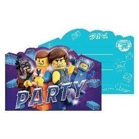 Invitaciones Lego Movie 2 (8)9904647 Amscan