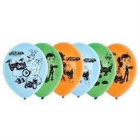 Globos latex Rusty Rivets (6)