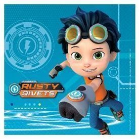 Servilletas Rusty Rivets (16)9904157 Amscan