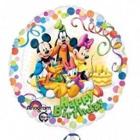 Globo Foil Amigos de Mickey Mouse 45cm. ( Empaquetado)