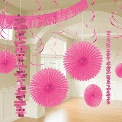 Kit Decoracion Color Rosa241700-103-55 Amscan