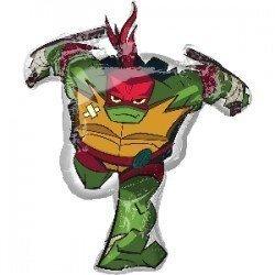 Globo foil Tortuga Ninja Raphael de 86cm