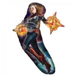 Globo foil forma Capitana Marvel de 93cm3951101 Anagram