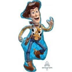 Globo foil Woody de 112cm