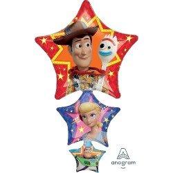 Globo Estrellas de Toy Story 4 de 106cm