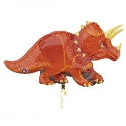 Globo foil Dinosaurio Triceratops de 106cm