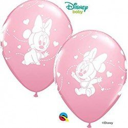 Globos latex Baby Minnie (6)