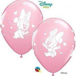 Globos latex Baby Minnie (6)QL-53548 Qualatex