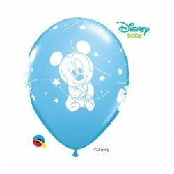 Globos latex Baby Mickey (6)