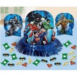Kit decoración mesa La Liga de la Justicia (23 piezas)