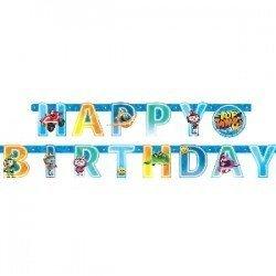 Guirnalda Top Wing Happy Birthday de 1,8m9904876 Amscan