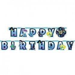 Guirnalda Battle Royal Happy Birthday de 3m122412 Amscan