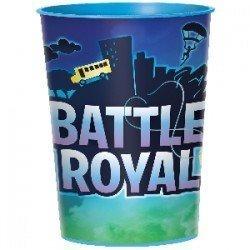 Vaso plastico duro Battle Royal (1)422412 Amscan