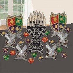 Kit decoración mesa Medieval280104 Amscan