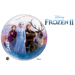 Globo Frozen II Burbuja Bubble de 56cmQL-97502 Qualatex